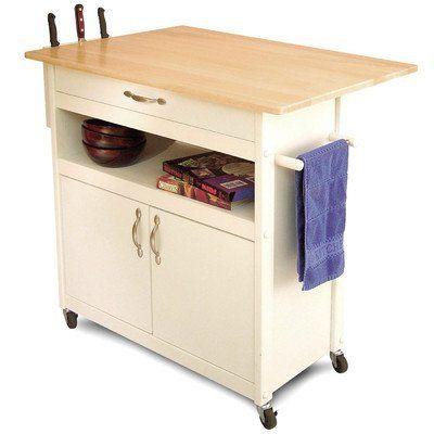 Catskill Craftsmen Drop Leaf Utility Cart Kitchen Cart Kitchen Utility Cart Kitchen Island Cart