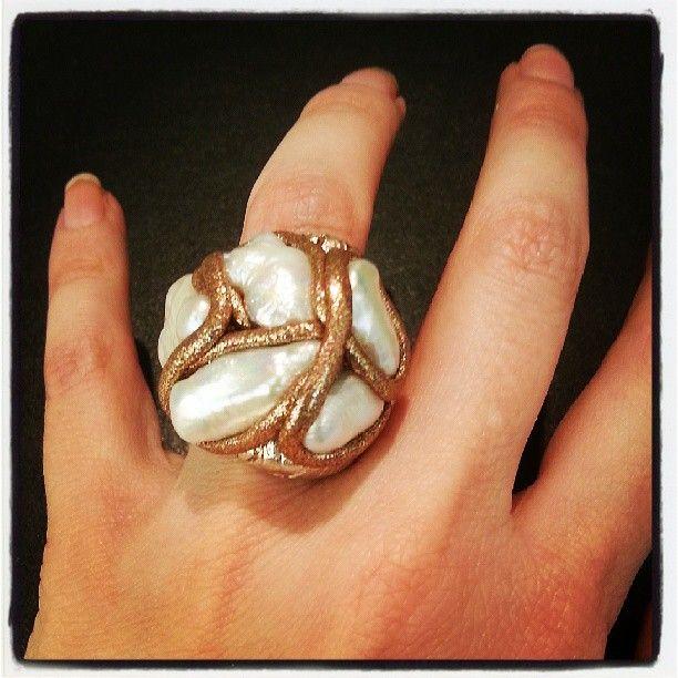 Estgir S Photo Animajoyas Animabarcelona Rings Anillos Pearls Perla Design Barcelona Style Oro Plata Jewelry Rings Accessories