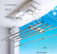 Elektricheskaya Sushilka Dlya Belya Foto Balcony Design Track Lighting Ceiling Lights