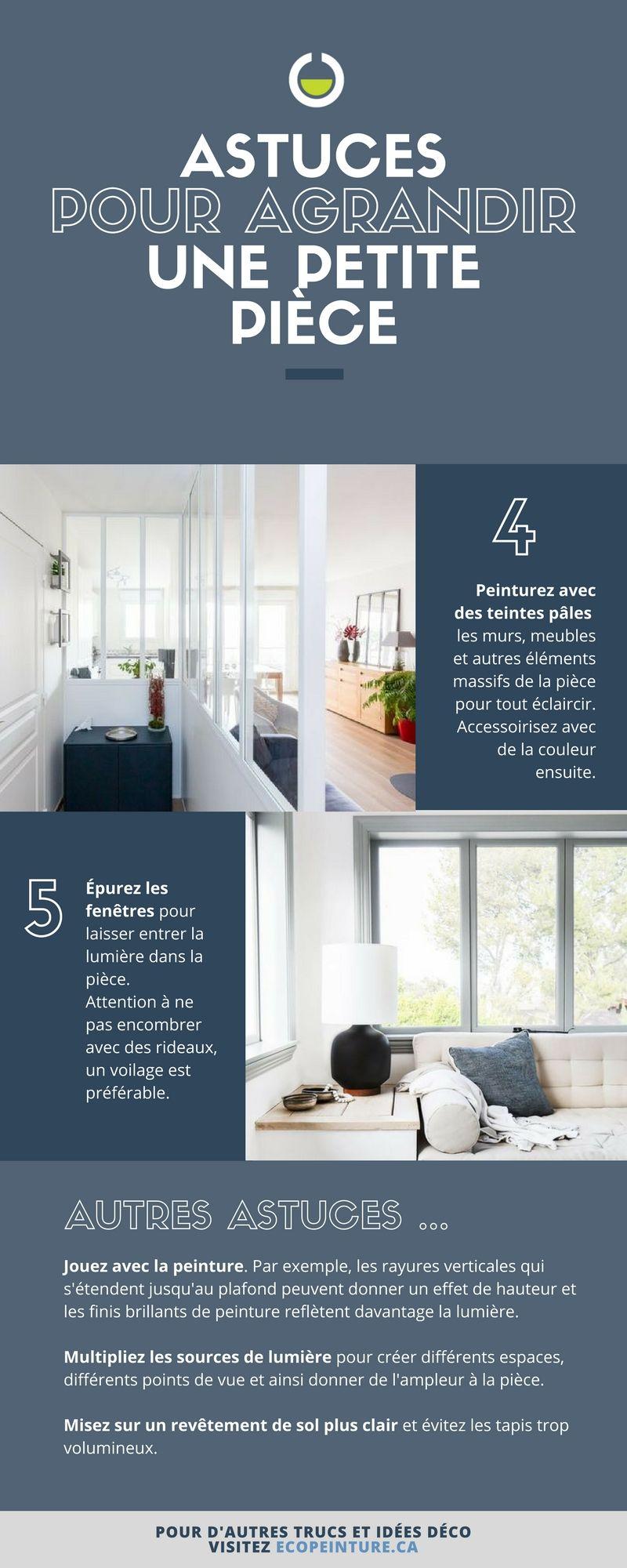 Agrandir Une Petite Piece 5 Astuces Pour Decorer Un Petit Espace