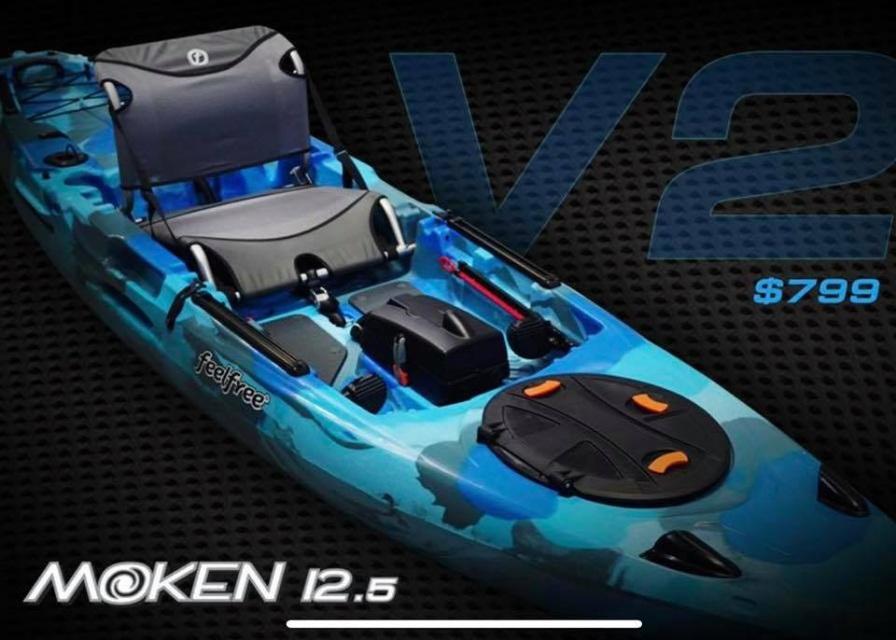 Pre Order Feelfree Moken 12 5 Version 2 Canoe And Kayak Kayak Fishing Kayaking