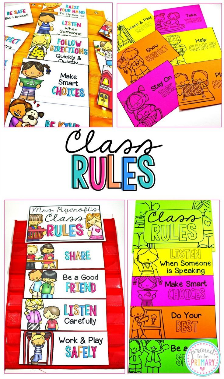 for rules Sample adults classroom