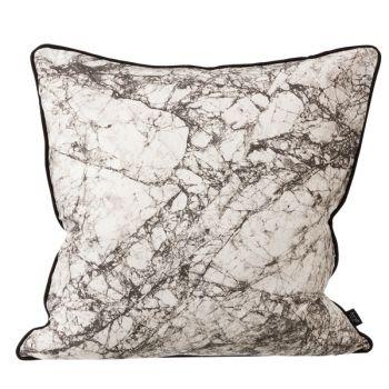 Marble silkkityyny, harmaa