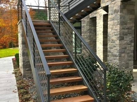 Best Image Result For Steel Outdoor Staircase Cost Iron 400 x 300