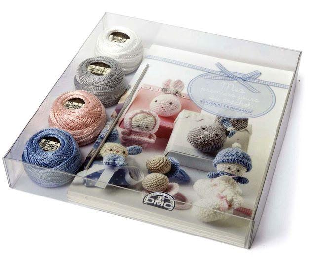 El blog de Dmc: Patrón de regalo Mis primeros días en crochet