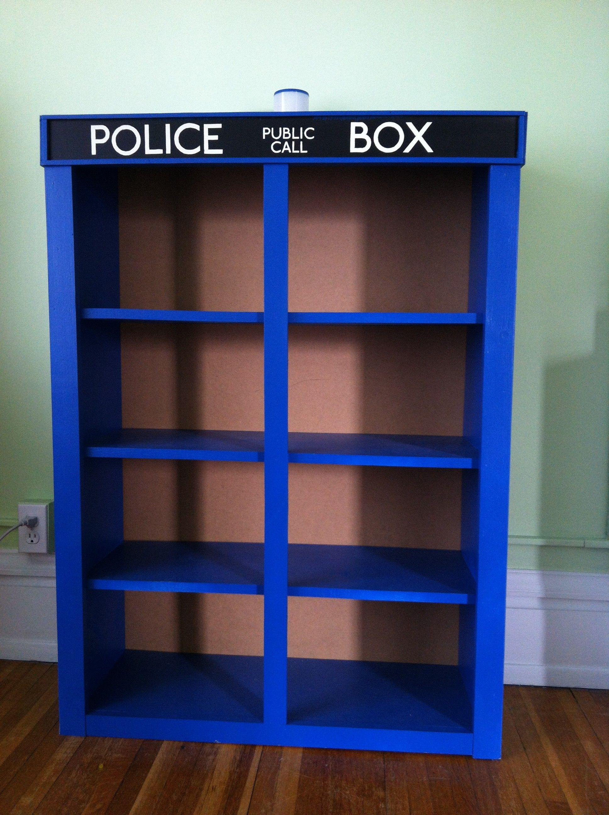 How To Make Your Kids And Not Too Anymore Happy Tardis Bookshelf