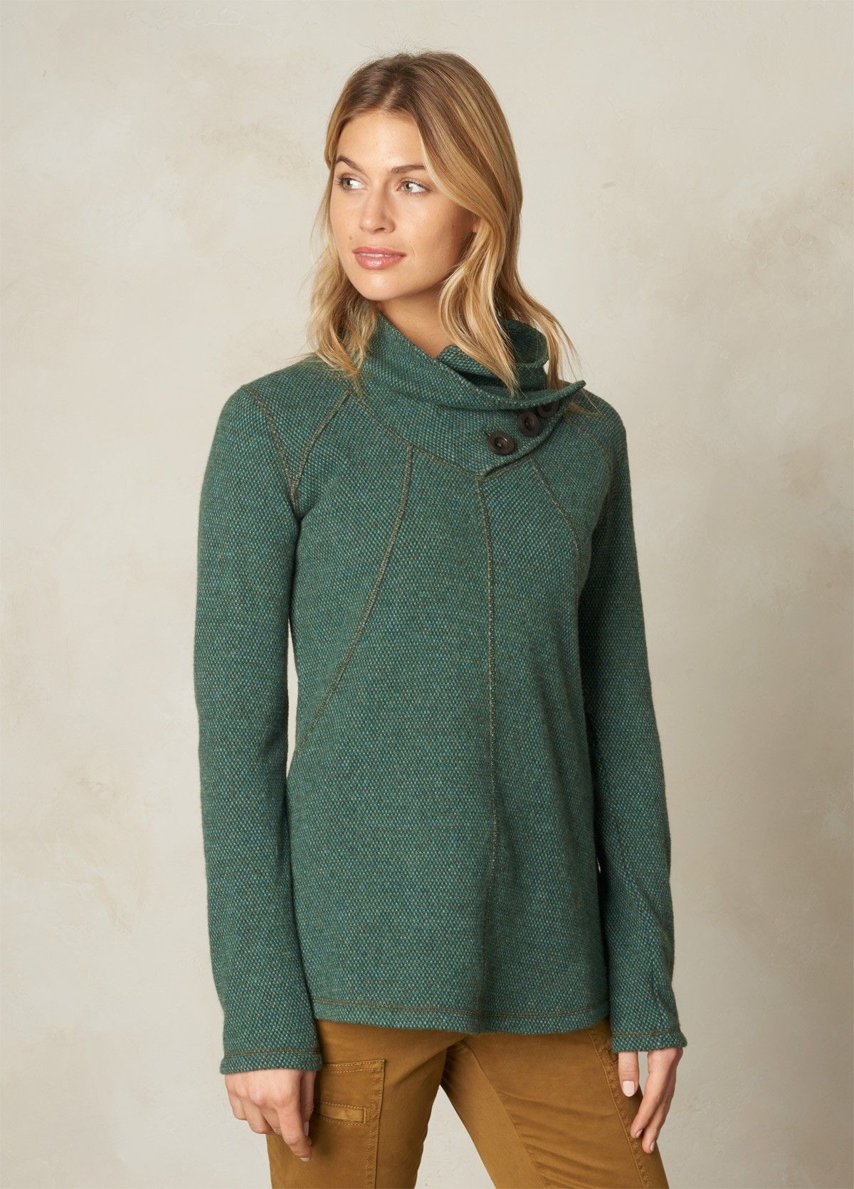 Ebba Tunic Sweater | Tunic sweater, Tunics and Neckline