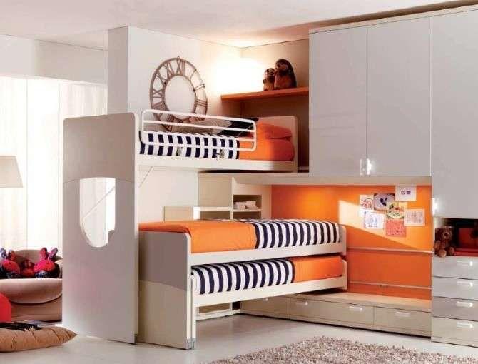 Letto A Castello 3 Letti.Letti A Castello Scorrevoli Modelli E Prezzi Kids Bedroom