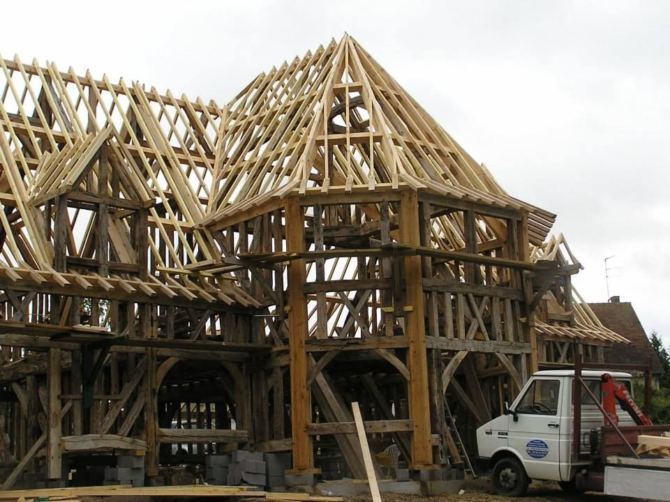 Roof Framing Geometry: French Timber Framing | French Dormer ...