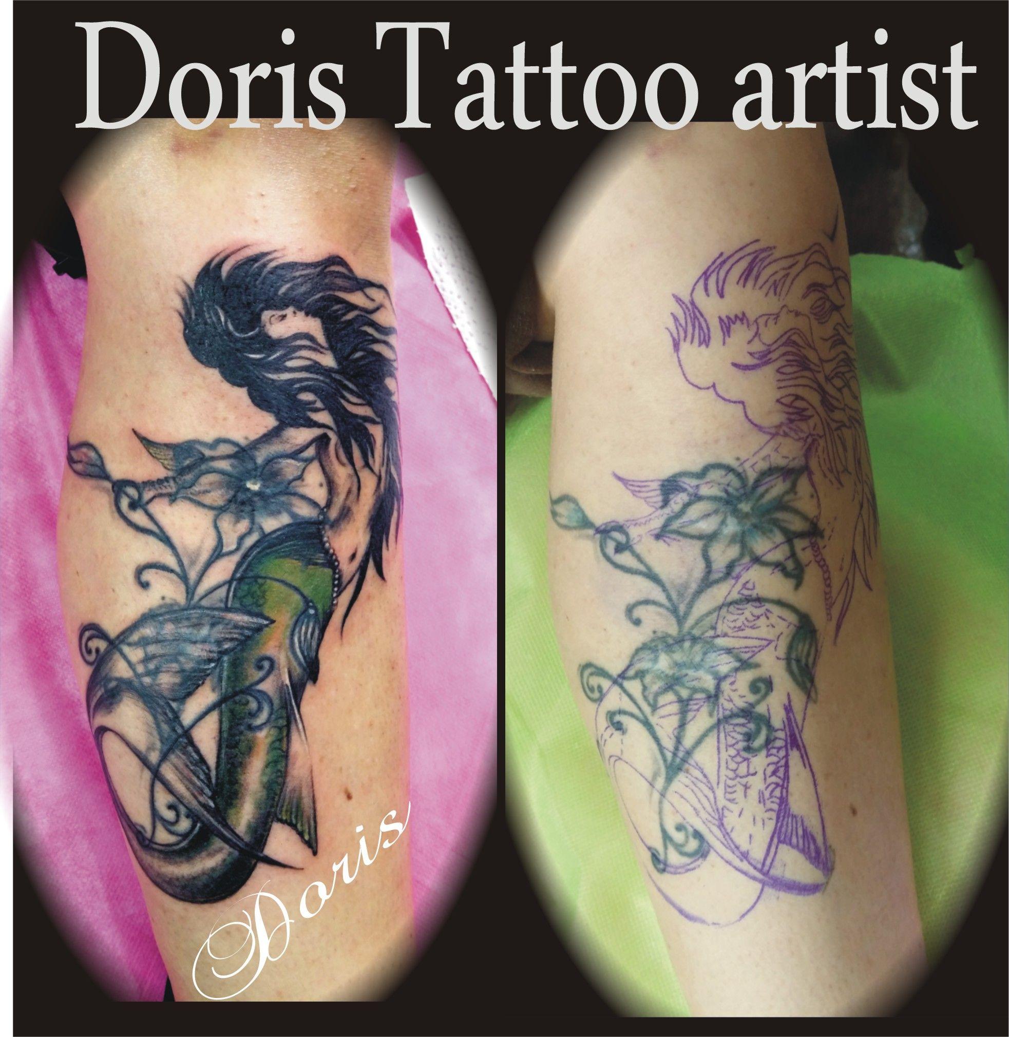 7e380fe99 mermaid tattoo by Doris-tattoo   Doris aluf - tattoo Israel ...