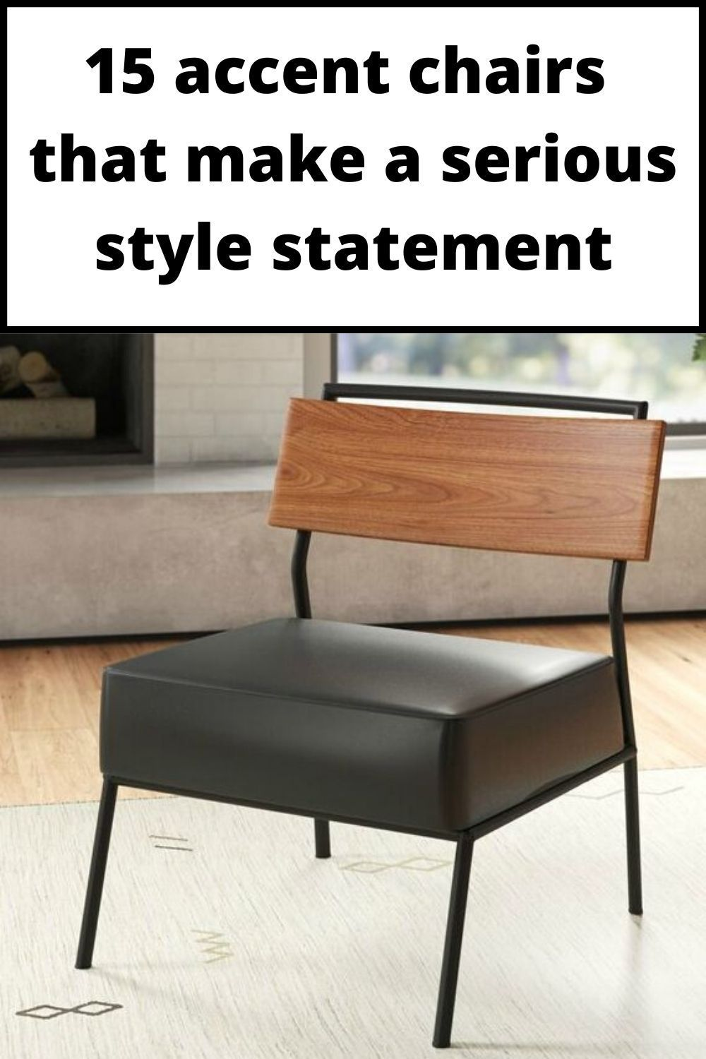 15 Accent Chairs That Make A Serious Style Statement Living In A Shoebox Chair Accent Chairs Metal Side Chair