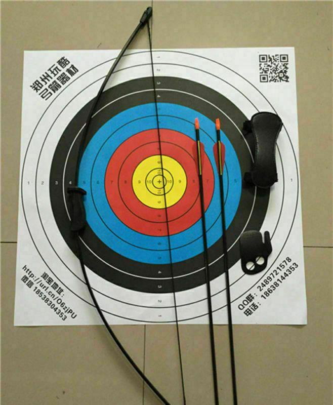US 12PCS 30inch Practice Archery Carbon Arrows Spine 1000 F Recurve//Compound Bow