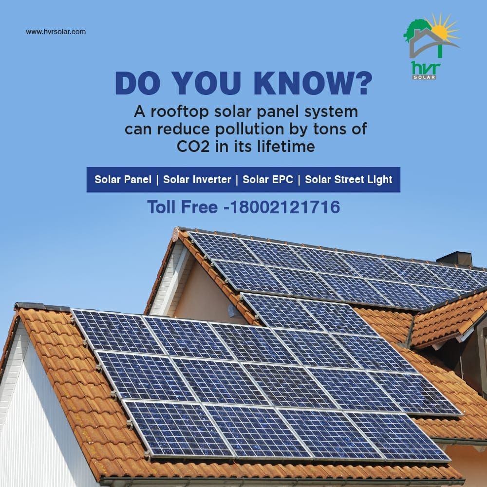 Choose Solarenergy To Reduce Pollution From The Environment With Hvrsolar Call Us 1800 2121 716 Visit Our We Solar Panels Facts Solar Energy Facts Solar