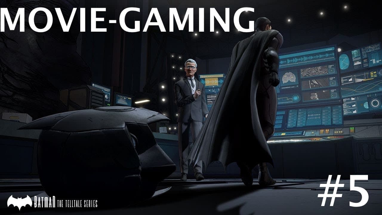 Découvrez l'épisode 05 de Movie-Gaming sur Batman The Telltale Series !