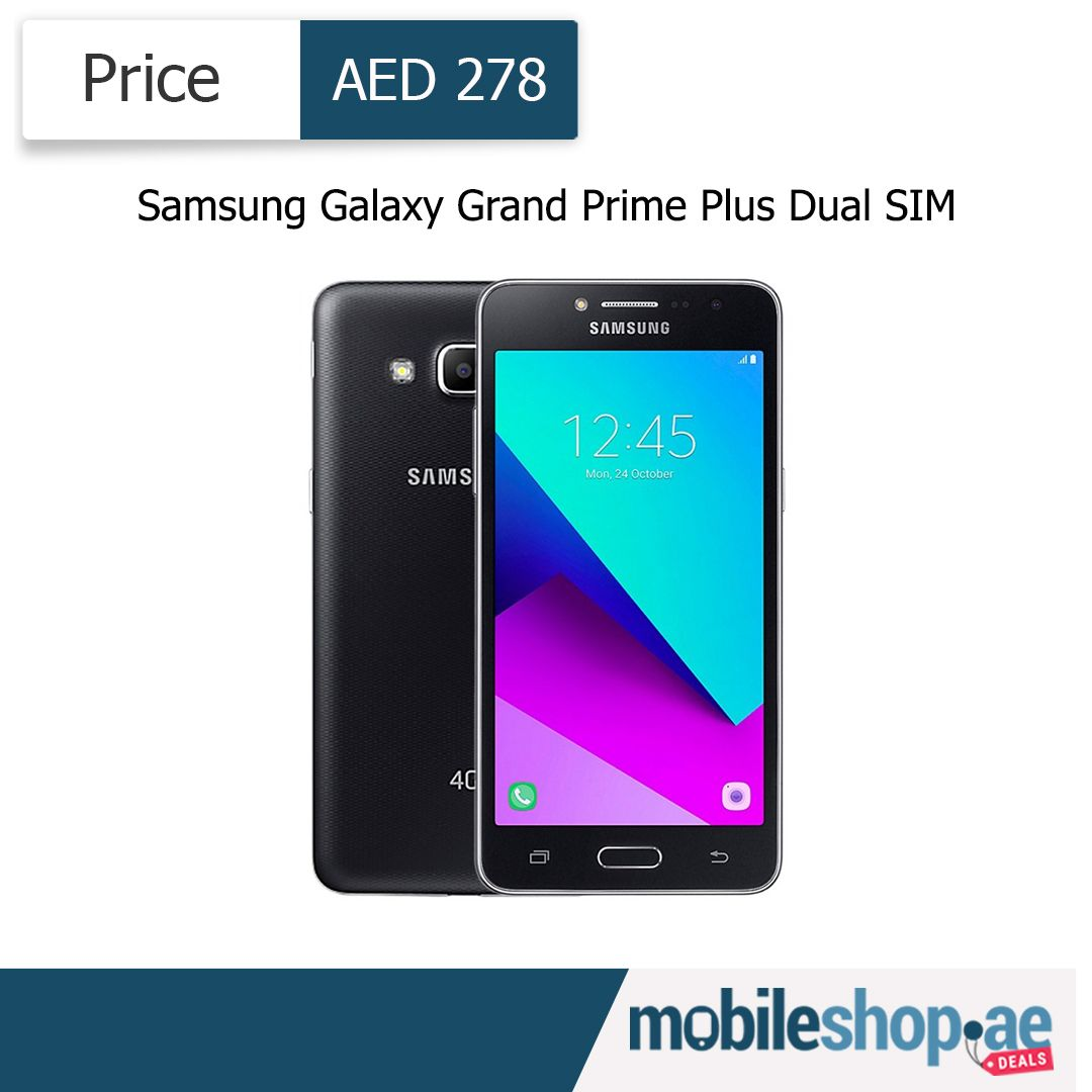Samsung Galaxy Grand Prime Plus Dual Sim 8 Gb 4g Black Dual Sim Galaxy Grand Prime Samsung Galaxy