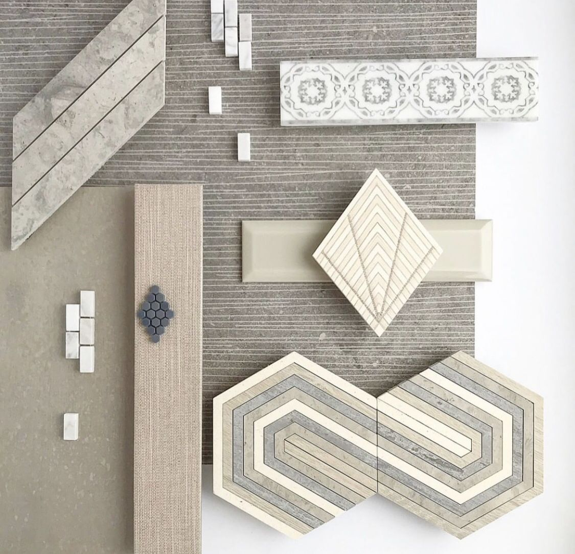 Urban Layer Decorative Tile Marble Systems Inc Materials Board Interior Design Interior Design Boards Tile Inspiration