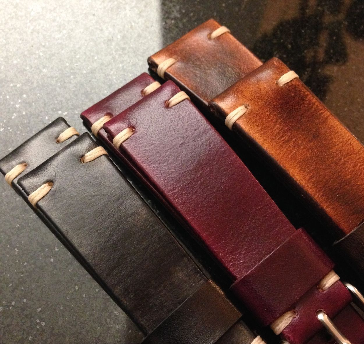 Leather Diy Watch Strap Tutorial Leather Watch Bands Apple