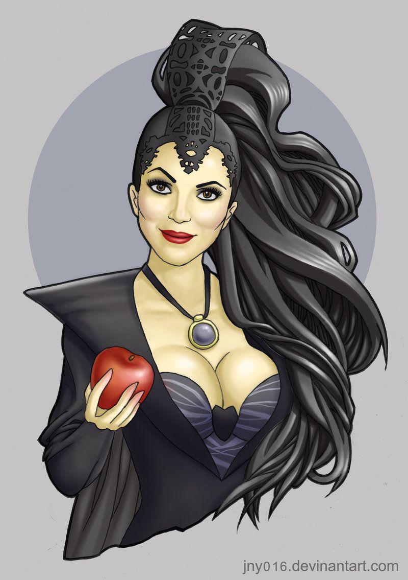 The Evil Queen Regina Mills By Jny016 On Deviantart Once Upon