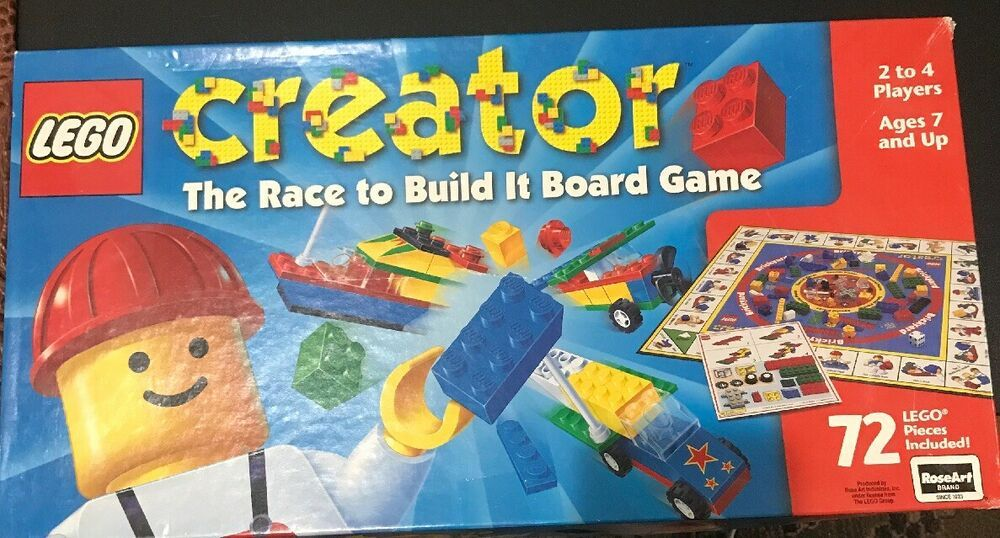 Lego Creator The Race To Build It Board Game Complete 1999afflink