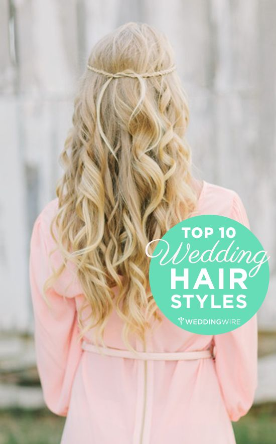 Our top favorite #wedding hairstyles for the bride! {Photo: Wrennwood Design}