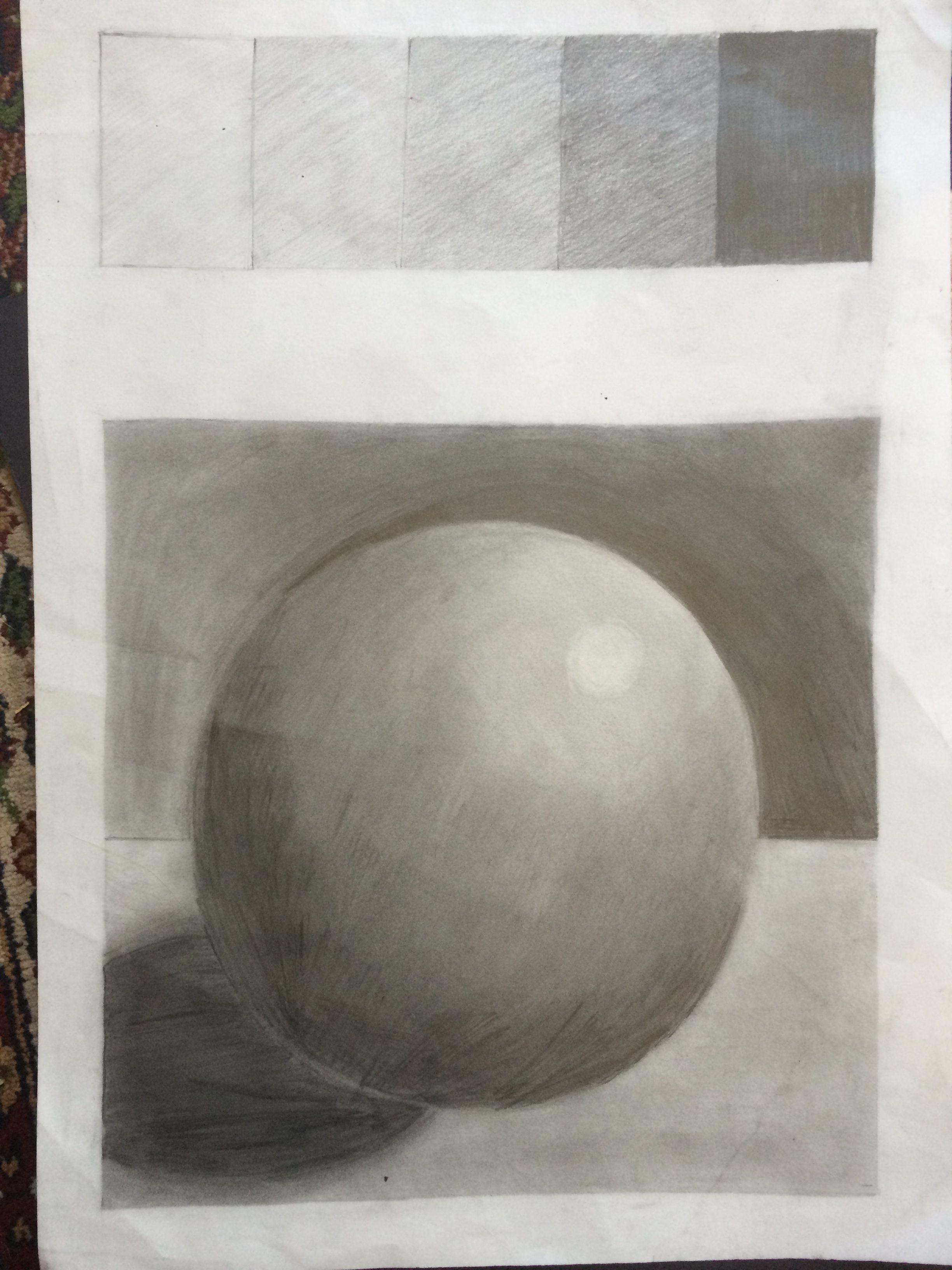 Value Scale Graphite Sketch