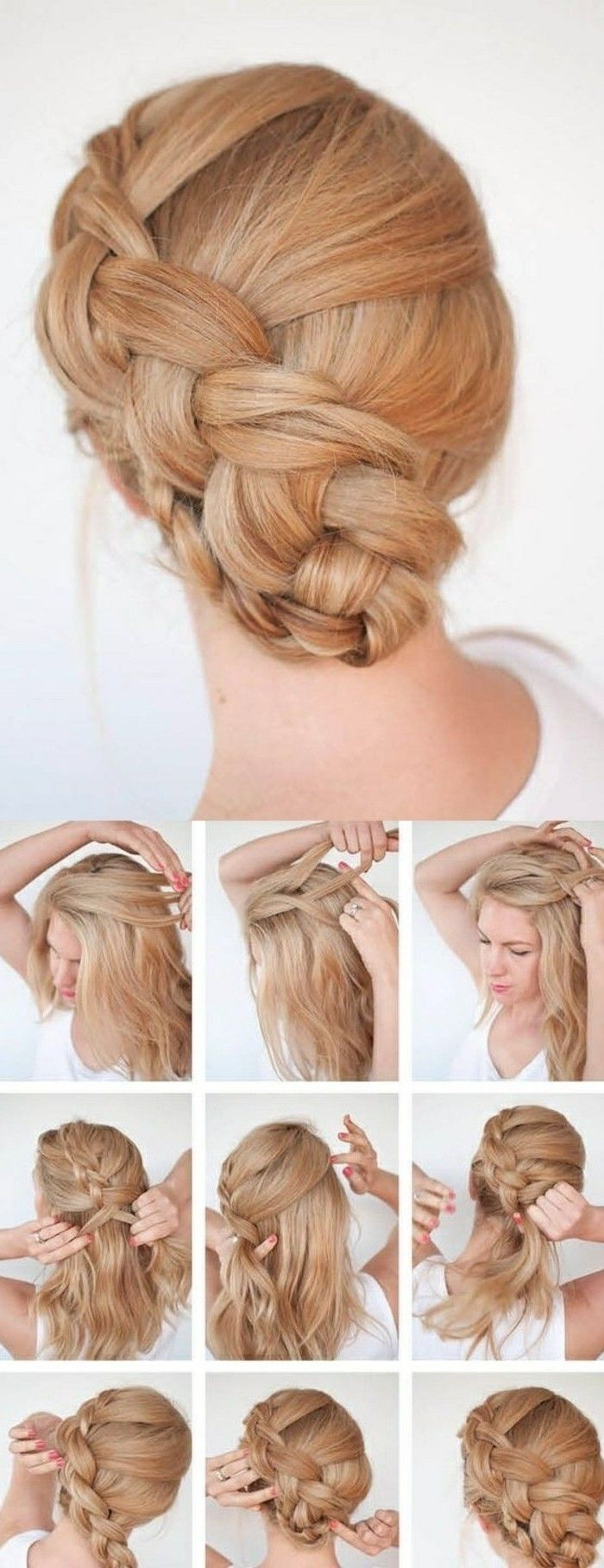 1001 + ideas for beautiful hairstyles + DIY instructions ...