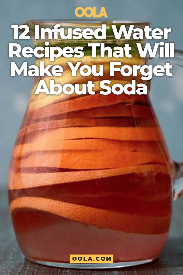 12 Infused Water Recipes That Will Make You Forget About Drinking Soda