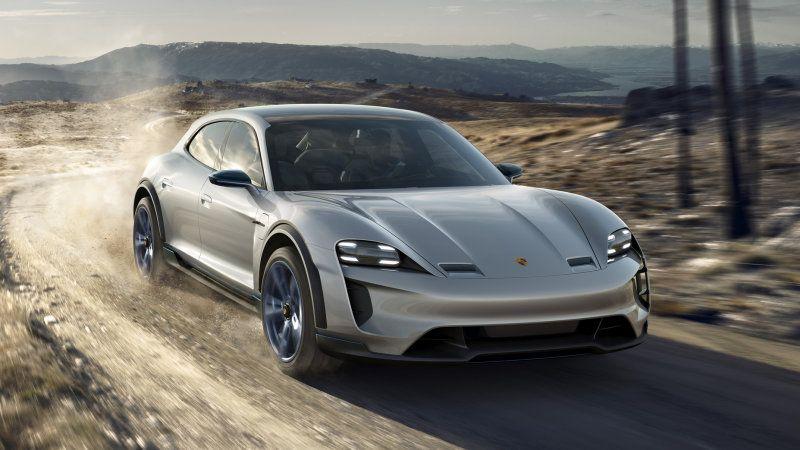 Porsche Developing Four Motor Electric Powertrain For An Suv Porsche Mission Porsche Taycan Mission E