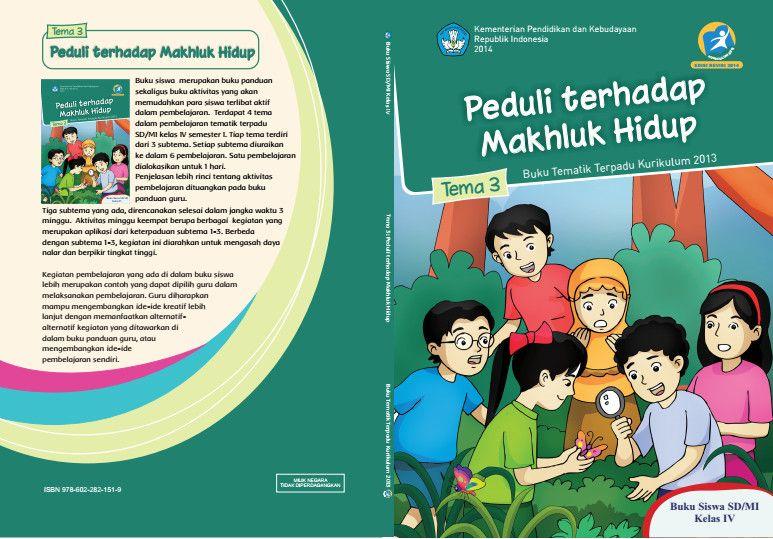 Buku Tema Kelas 4 Sd
