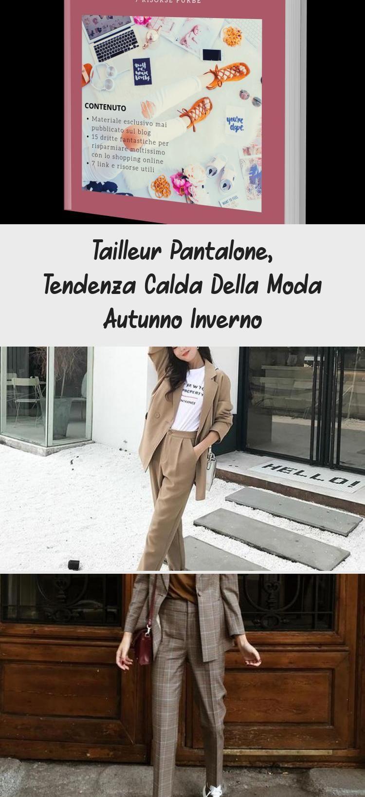 Tailleur Pantalone, Tendenza Calda Della Moda Autunno Inverno – Fashion