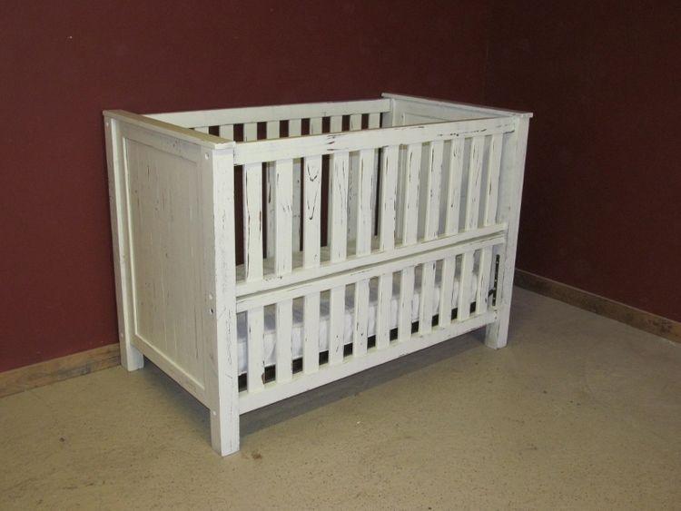 White Convertible Baby Crib Cribs Baby Cribs Rustic Crib