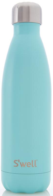 Sessabel - S'well Bottle Turquoise Blue Satin, $38.00 (http://www.sessabel.com/swell-bottle-turquoise-blue-satin/)