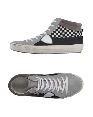 PHILIPPE MODEL Men's High-tops & sneakers Light grey 7 US