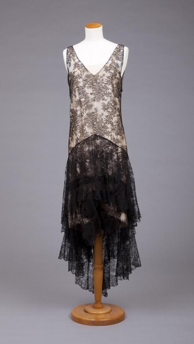 Vestido Callot Soeurs, 1929-1931 el Museo Goldstein de Diseño