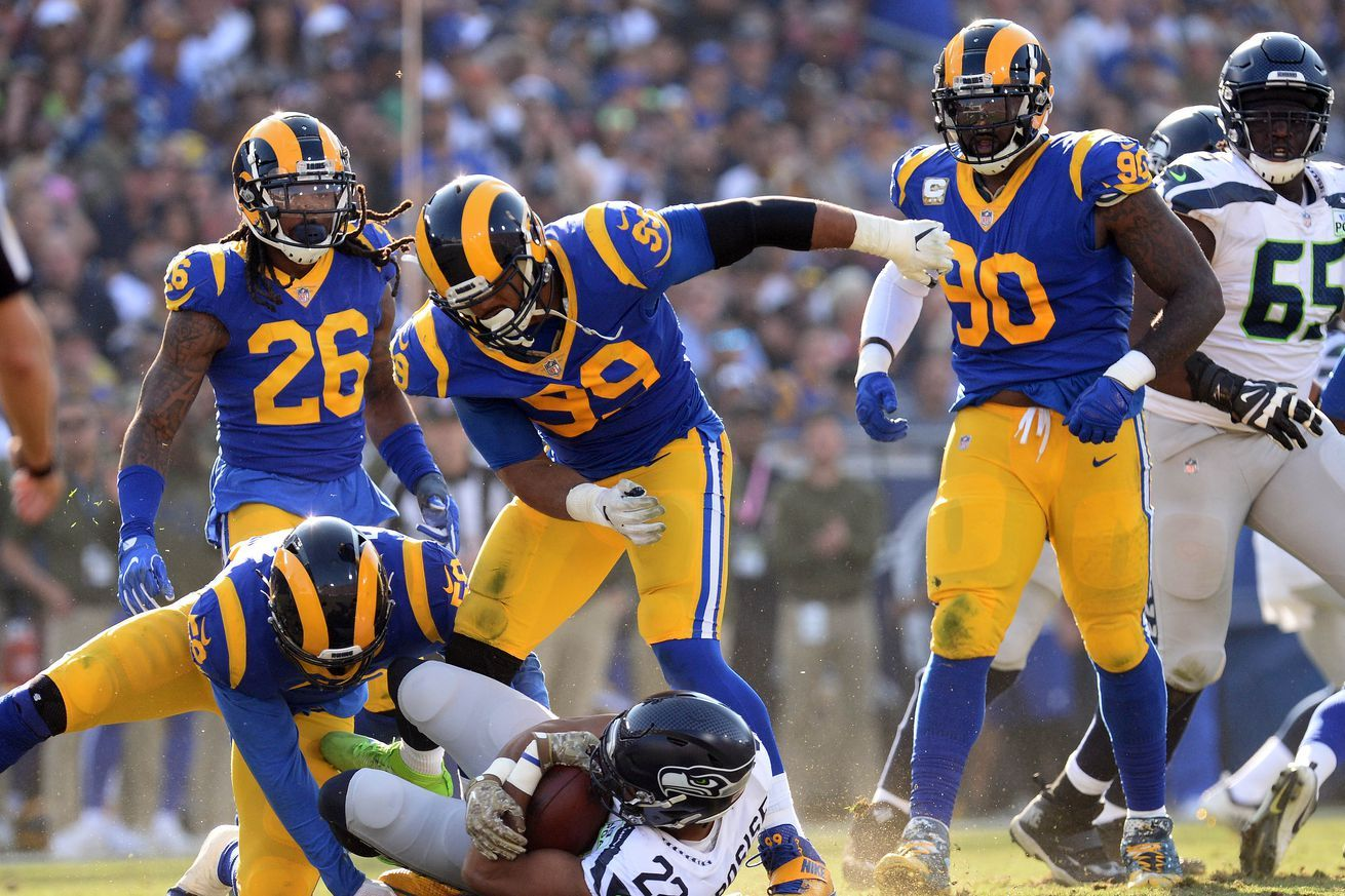 NFL power rankings Week 14 The Rams and the Chargers are