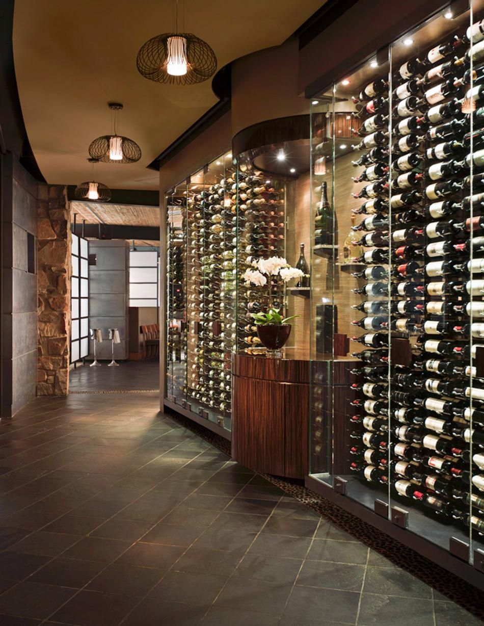 Sanctuary Camelback Mountain Wine Wall So Nice Wine Cellar Design Home Wine Cellars Wine Wall