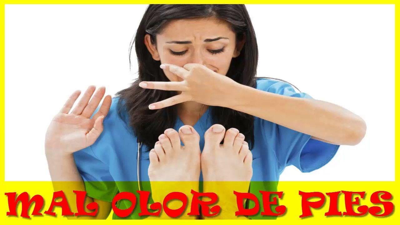 como eliminar el mal olor de los pies    RECOMENDADO!!