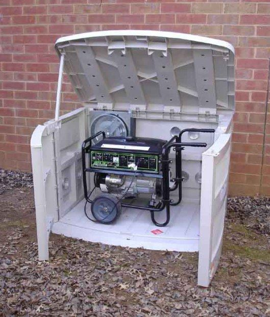 Dalama How To Build A Small Generator Shed Portableshedplan Generator Shed Portable Sheds Portable Generator