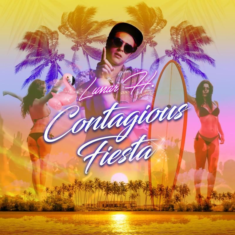 """Check out my new single """"Contagious Fiesta"""" distributed by"""