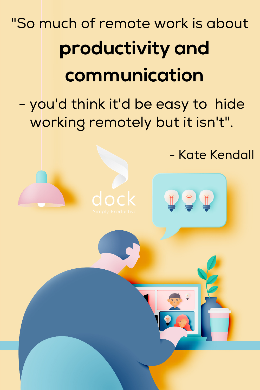 So Much Of Remote Work Is About Productivity And Communication Remotework Worklifebalance Stayproductive Employeepr Remote Work Communication Productivity