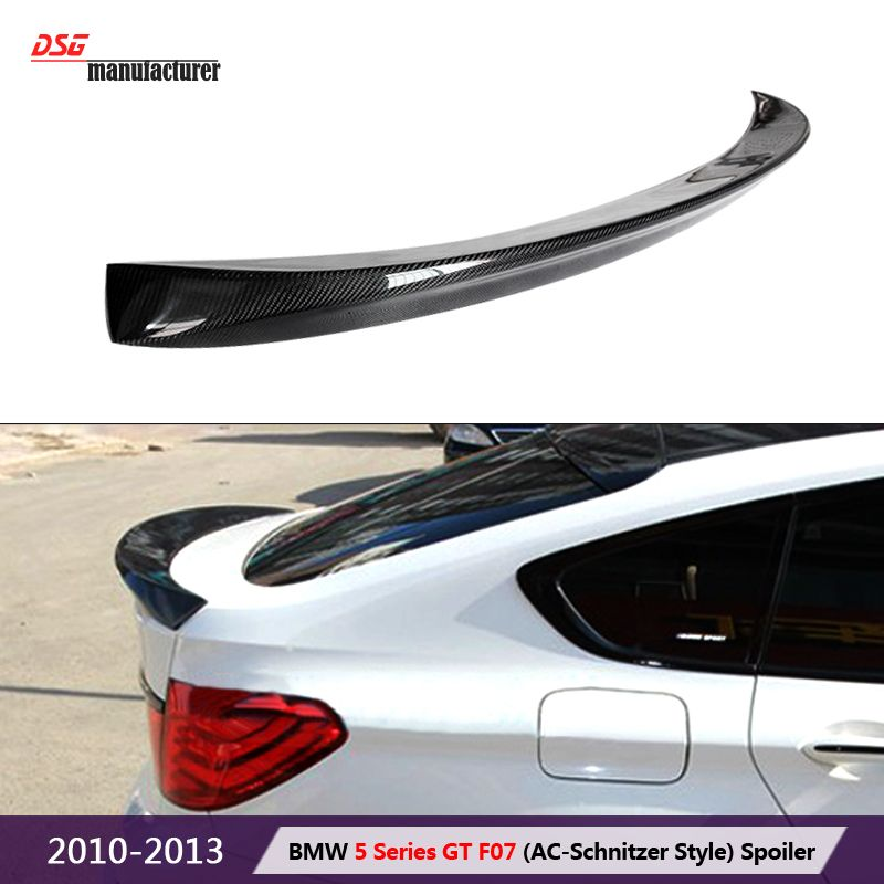 Ac Design Carbon Fiber Trunk Wing Spoiler For Bmw 5 Series