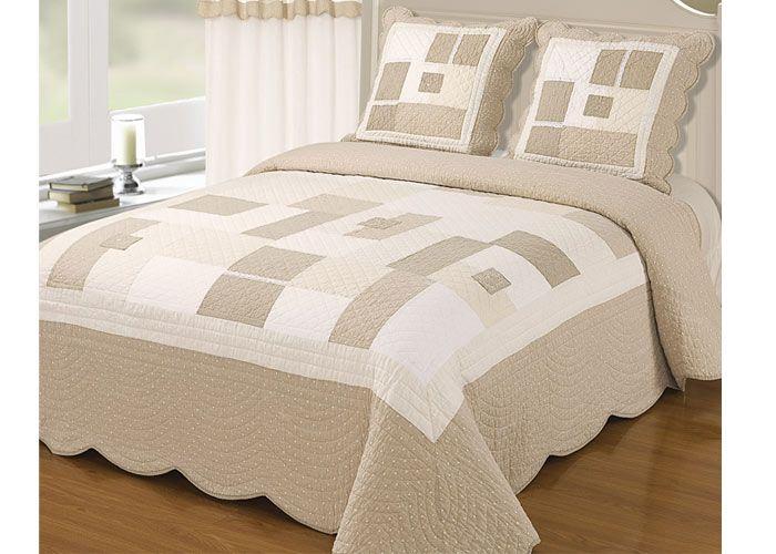 couvre lit boutis audrey lin boutis 230x250 cm lit 140 cm boutis pinterest patches. Black Bedroom Furniture Sets. Home Design Ideas