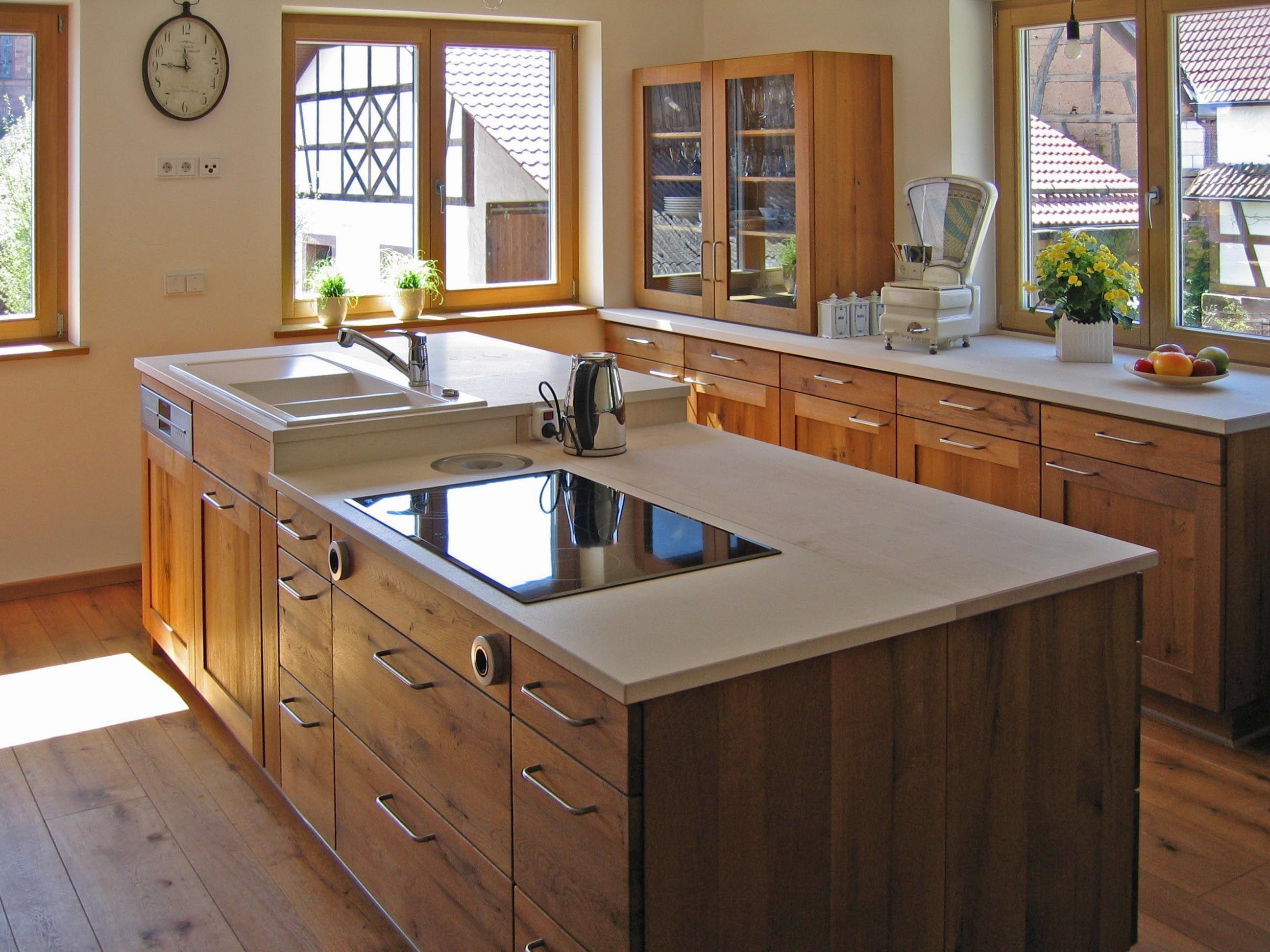 Naturholz Küche | wohnen | Pinterest | Naturholz, Küche und Küche ...