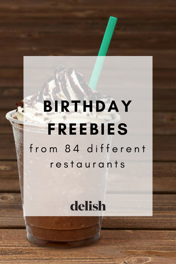 Restaurants That Offer Birthday Freebies Why Pay On Your Special Day