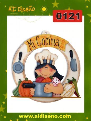 Cocina Maderacountrymx Cuadros Y Guirnaldas Pinterest