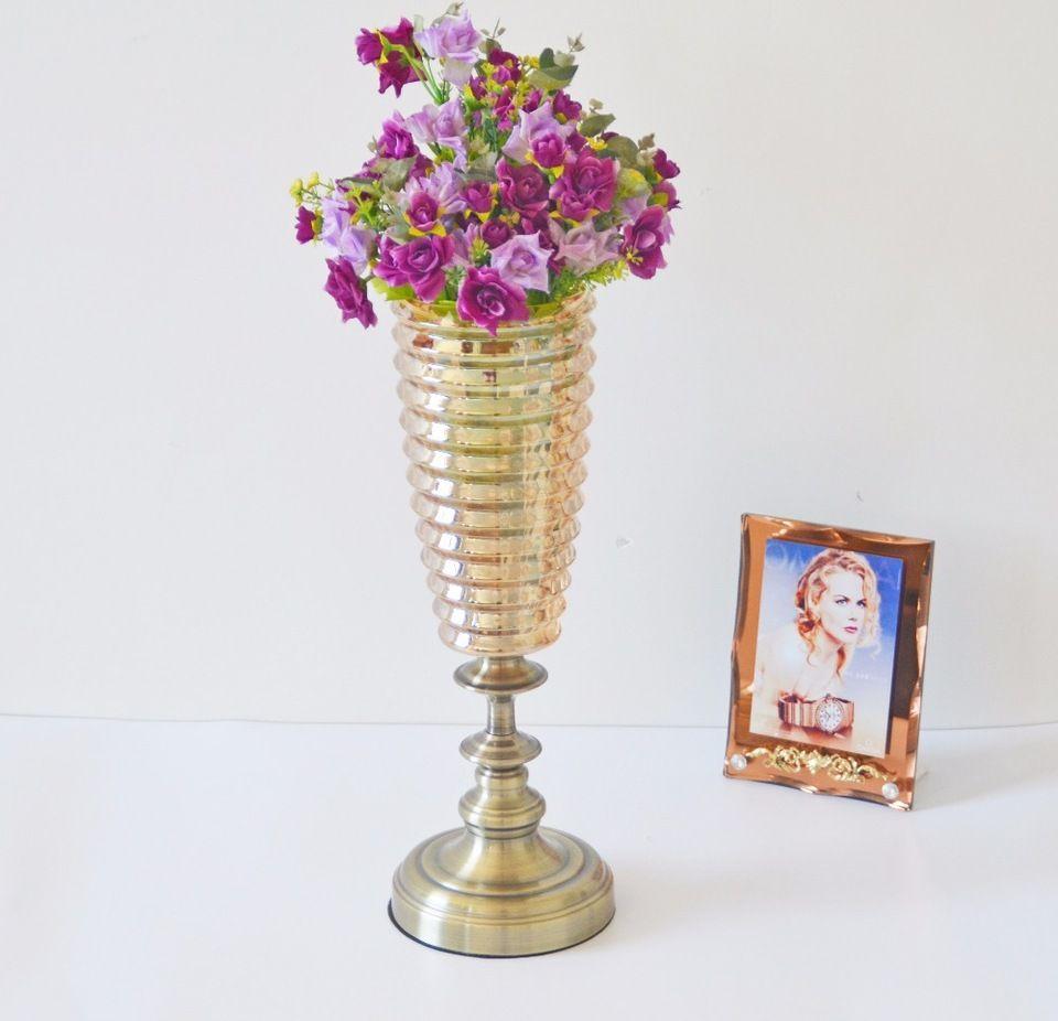 European style home decoration luxury crystal vase with metal european style home decoration luxury crystal vase with metal holder reviewsmspy