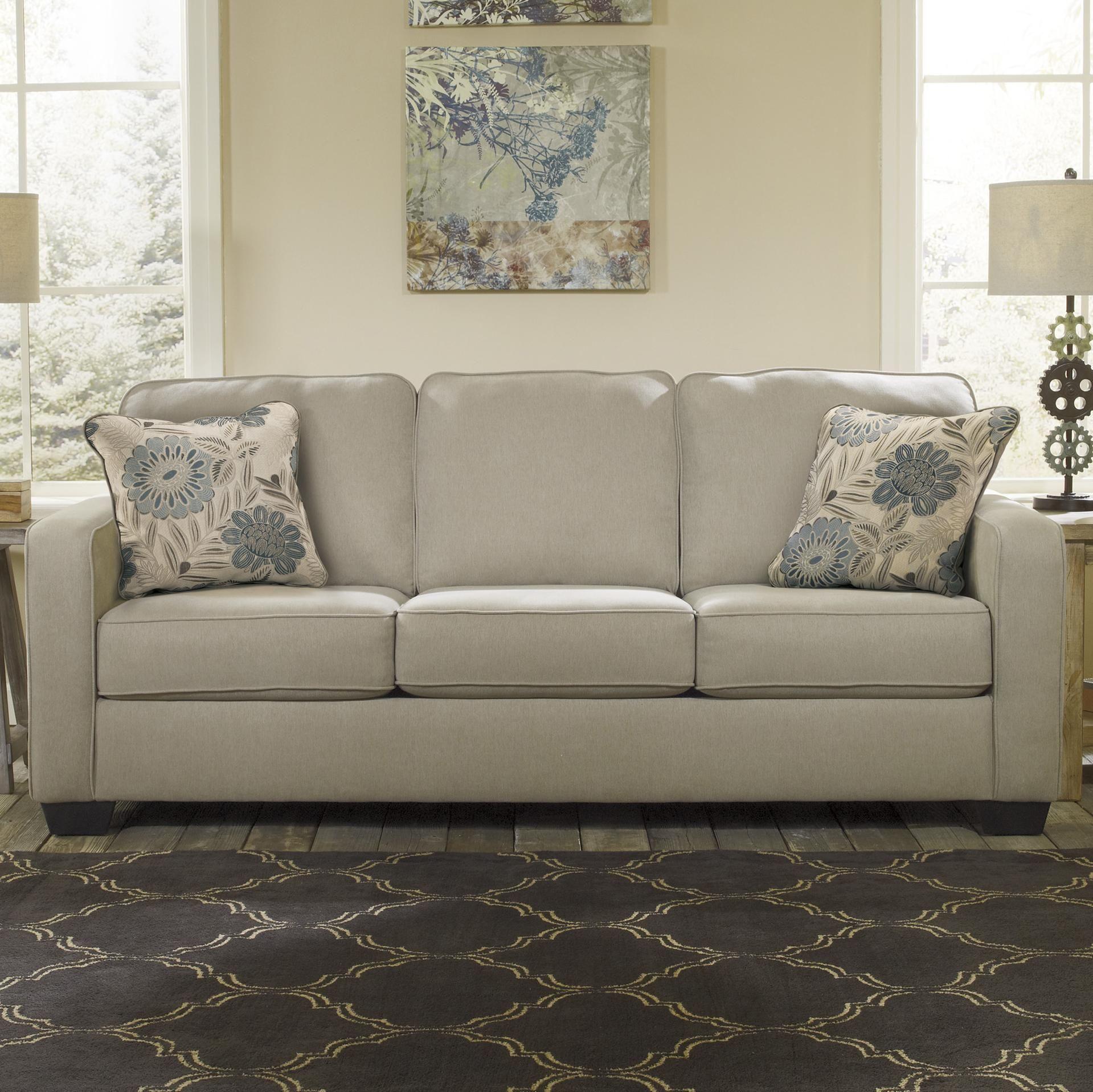 Alenya Khaki Sofa by Ashley Signature Design (With