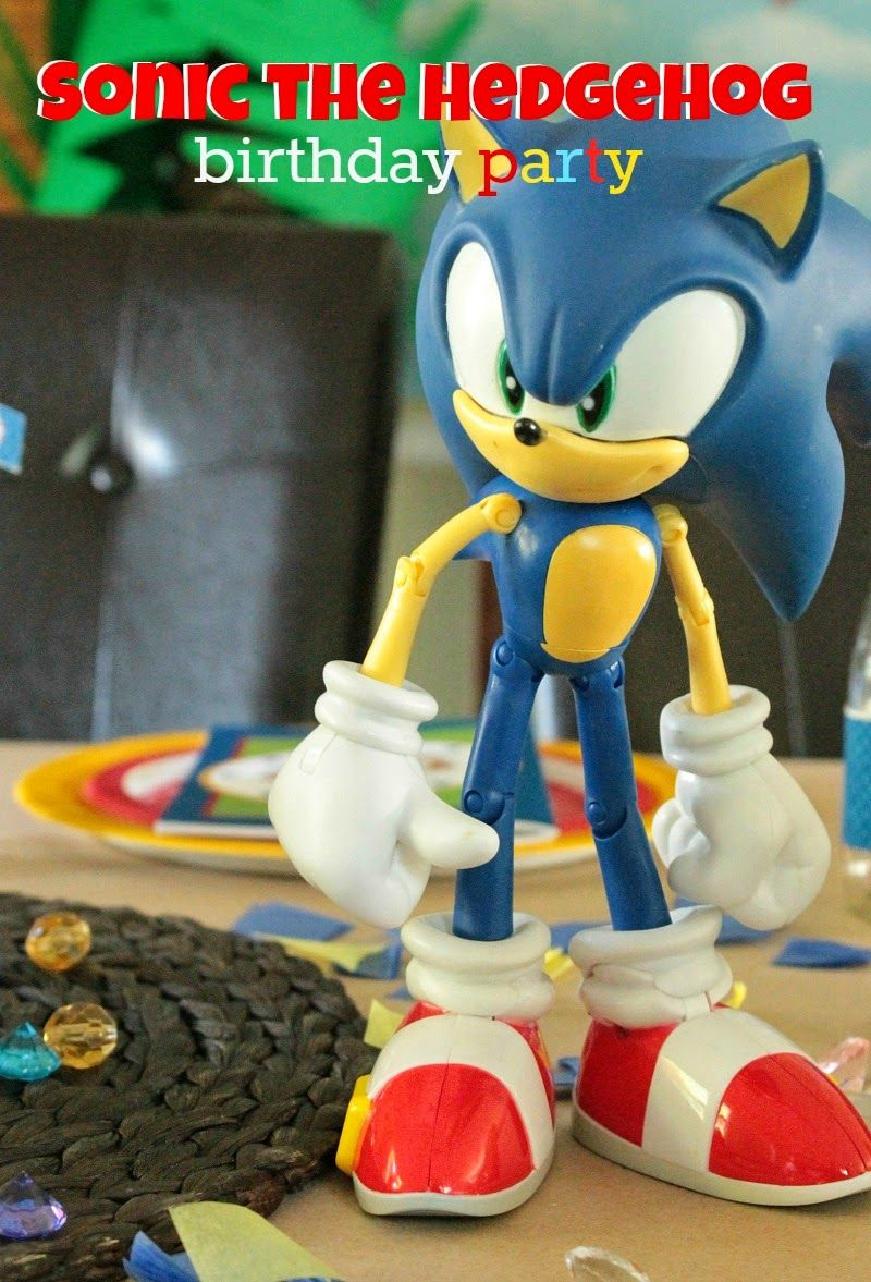 {Real Parties} Adam's Sonic the Hedgehog Birthday Party