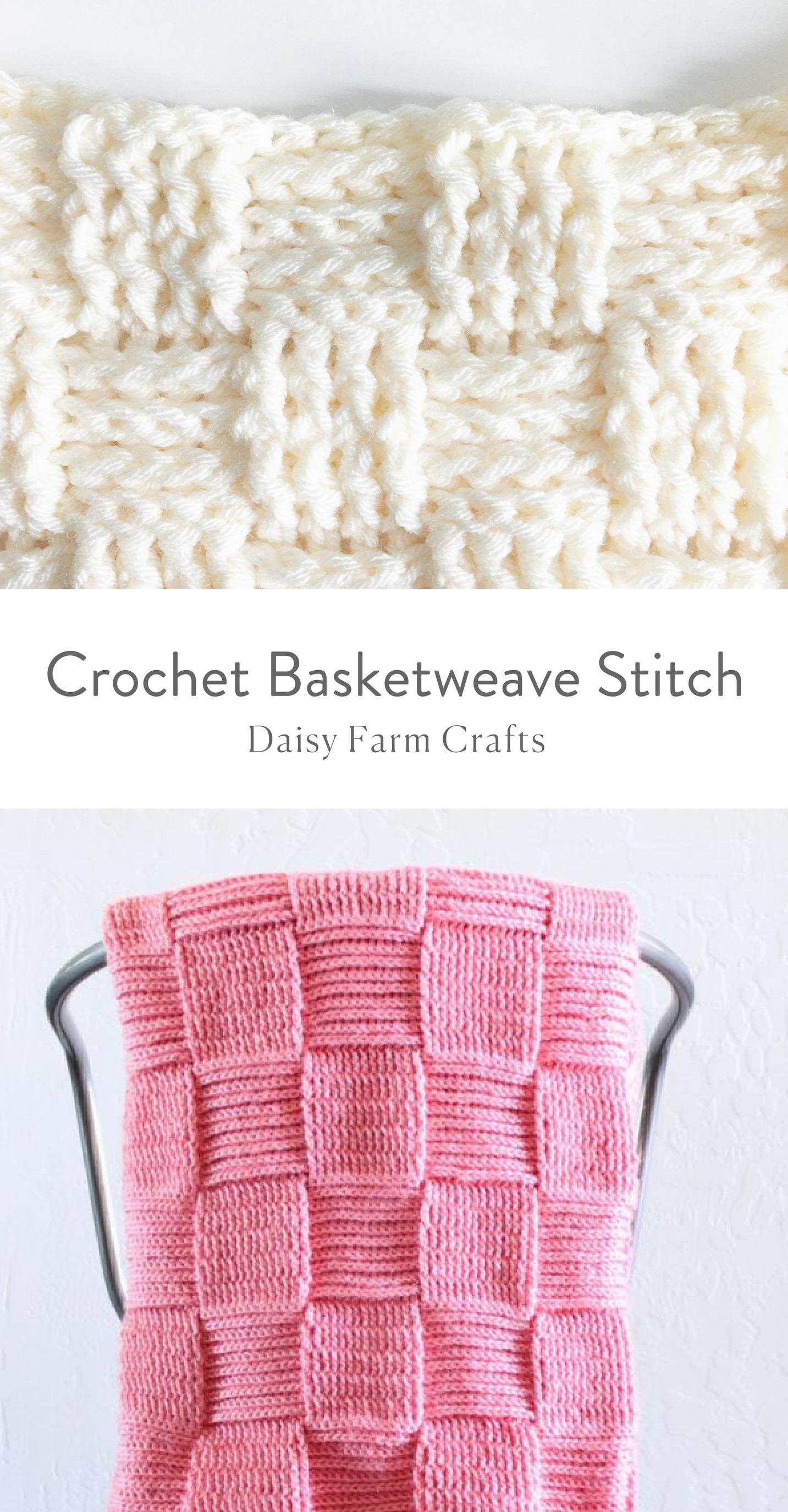 How to Crochet the Basketweave Stitch | CROCHET | Pinterest ...