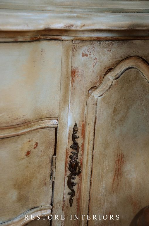 Diy French Paint Finish Tutorial She Used 3 Chalk Paint